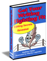 Get Your Writing Fighting Fit: Editing Secrets Revealed cover